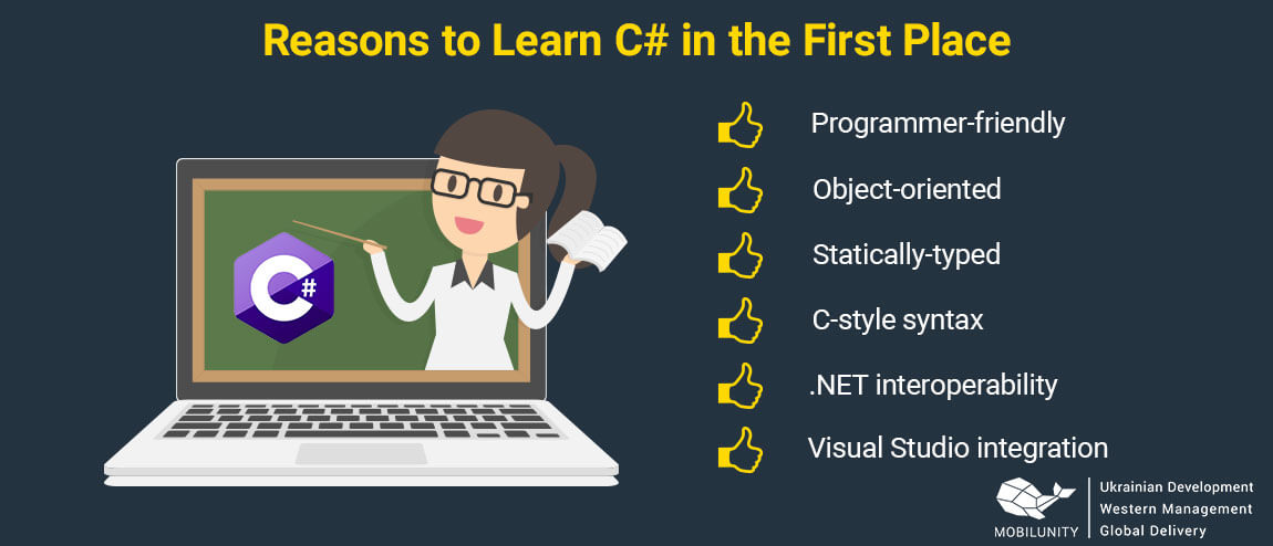 reasons to learn c# programming language