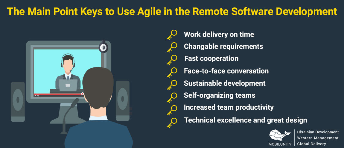 remote management software with agile