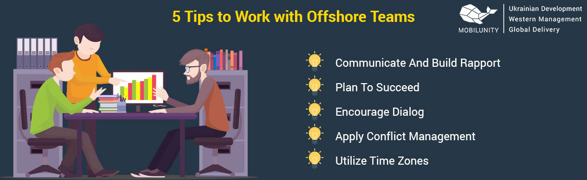 tips to work with offshore teams