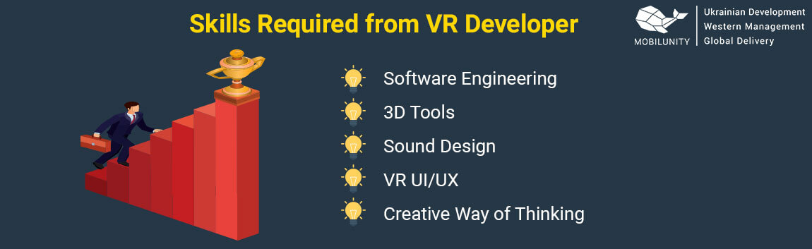 vr developer and vr development team main skills