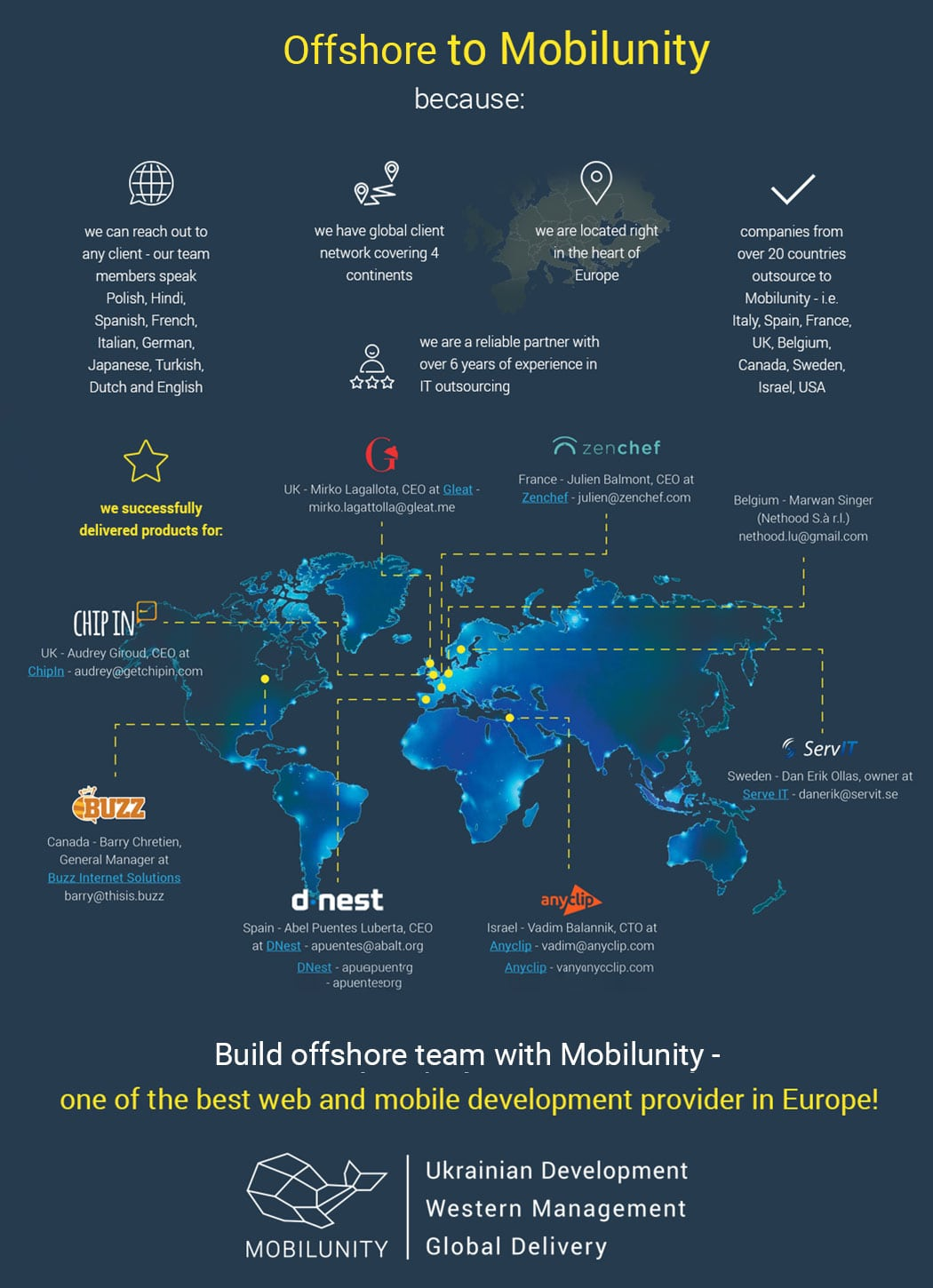 why to hire an offshore developer with Mobilunity