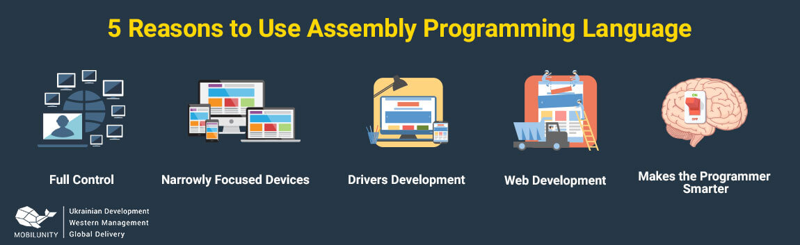 advantages of assembly programming