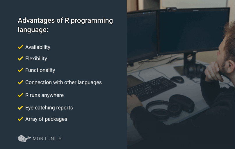 advantages of r programming