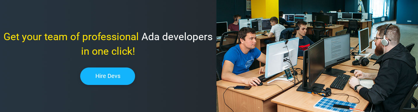 hire ada developers at Mobilunity