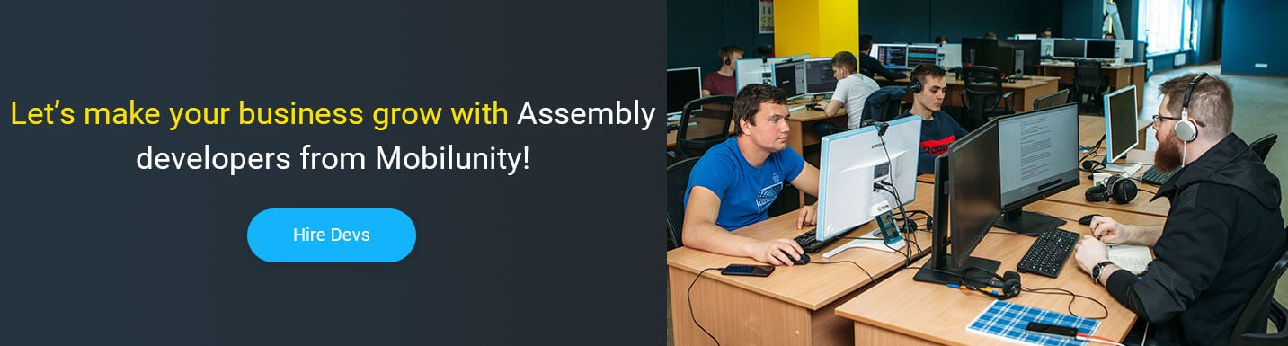 How We Are Providing Highly Skilled Assembly Developers | Mobilunity
