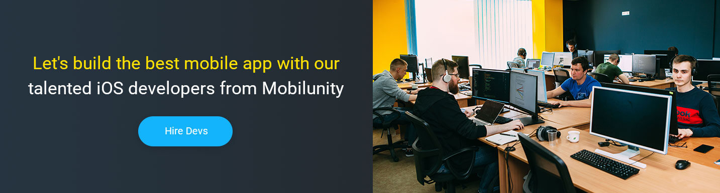 hire ios developer at Mobilunity