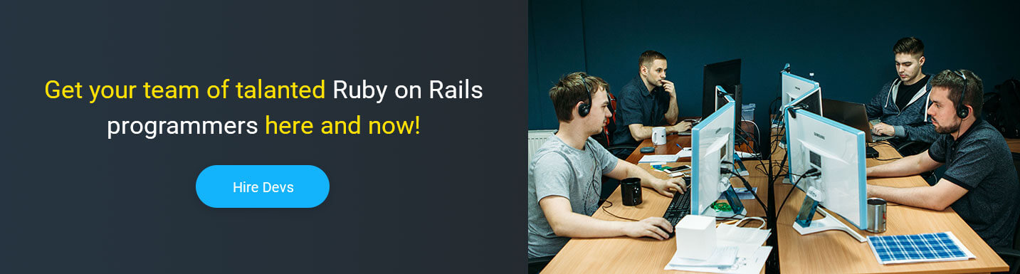 hire ruby on rails developer at Mobilunity