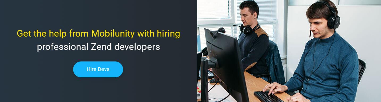 hire zend developer at Mobilunity