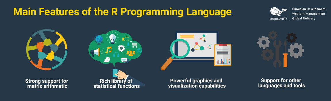 main features of r programming language