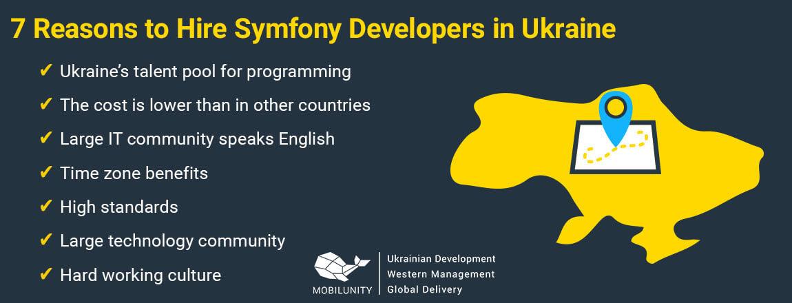 reasons to hire symfony programmer in Ukraine