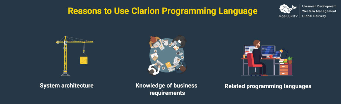 reasons to use clarion programming language