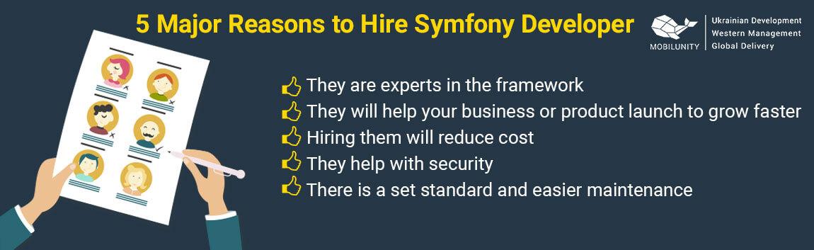 reasons why you need symfony development