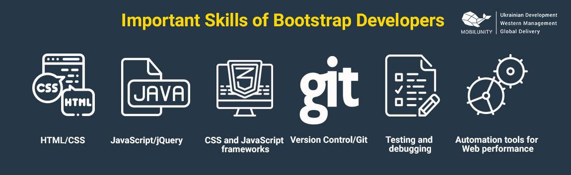 bootstrap developer tools and skills