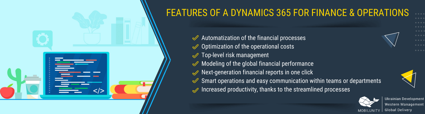 dynamics 365 for finance and operations feautres
