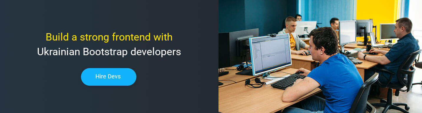 hire bootstrap developer at Mobilunity