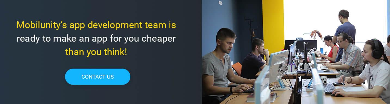 hire mobile web app developer at Mobilunity