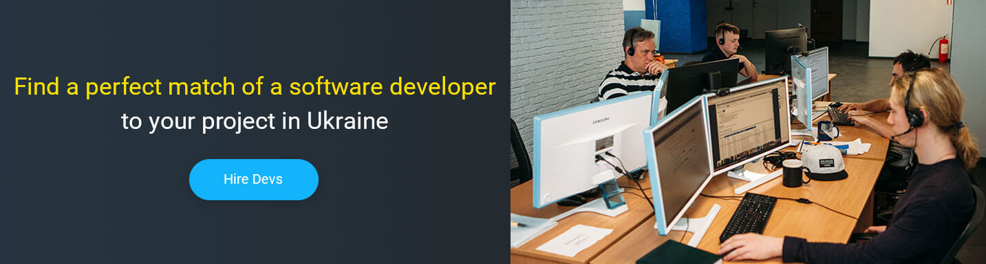 hire programming software developer in Ukraine