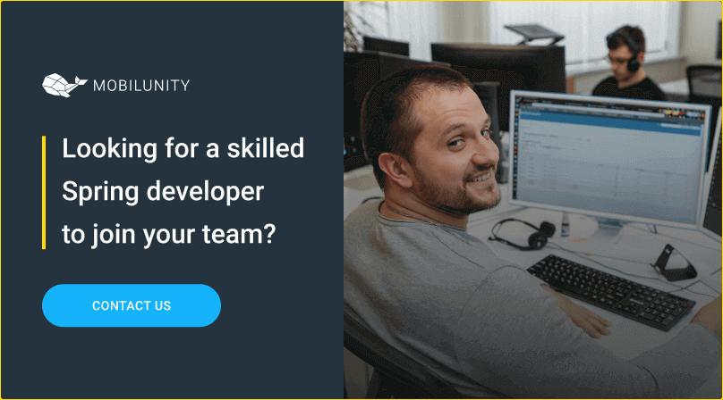 hire spring developer in ukraine
