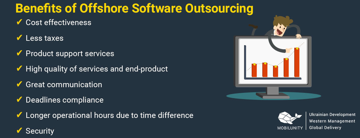 offshore software development services benefits