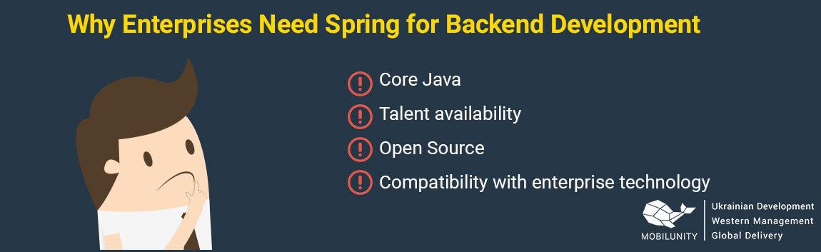 reasons to choose spring programming
