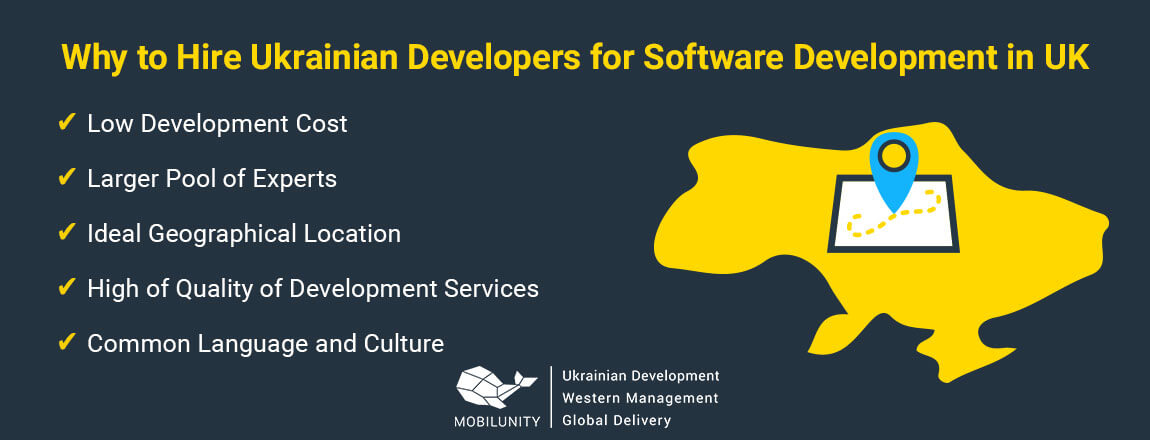 reasons to hire Ukrainian devs for software development in uk