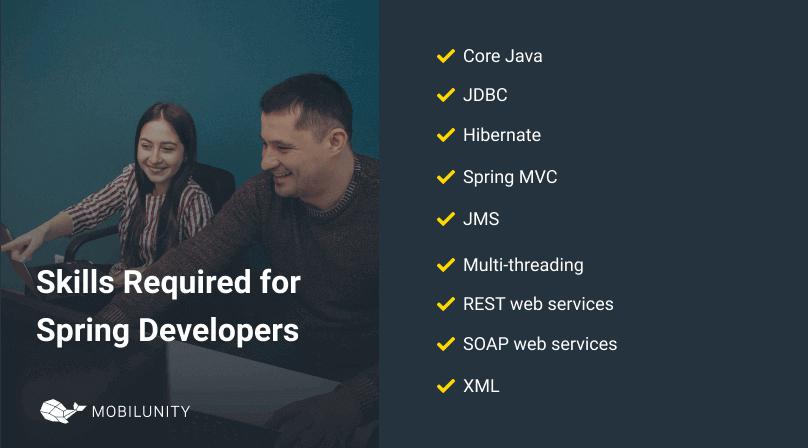 skills spring developers should have