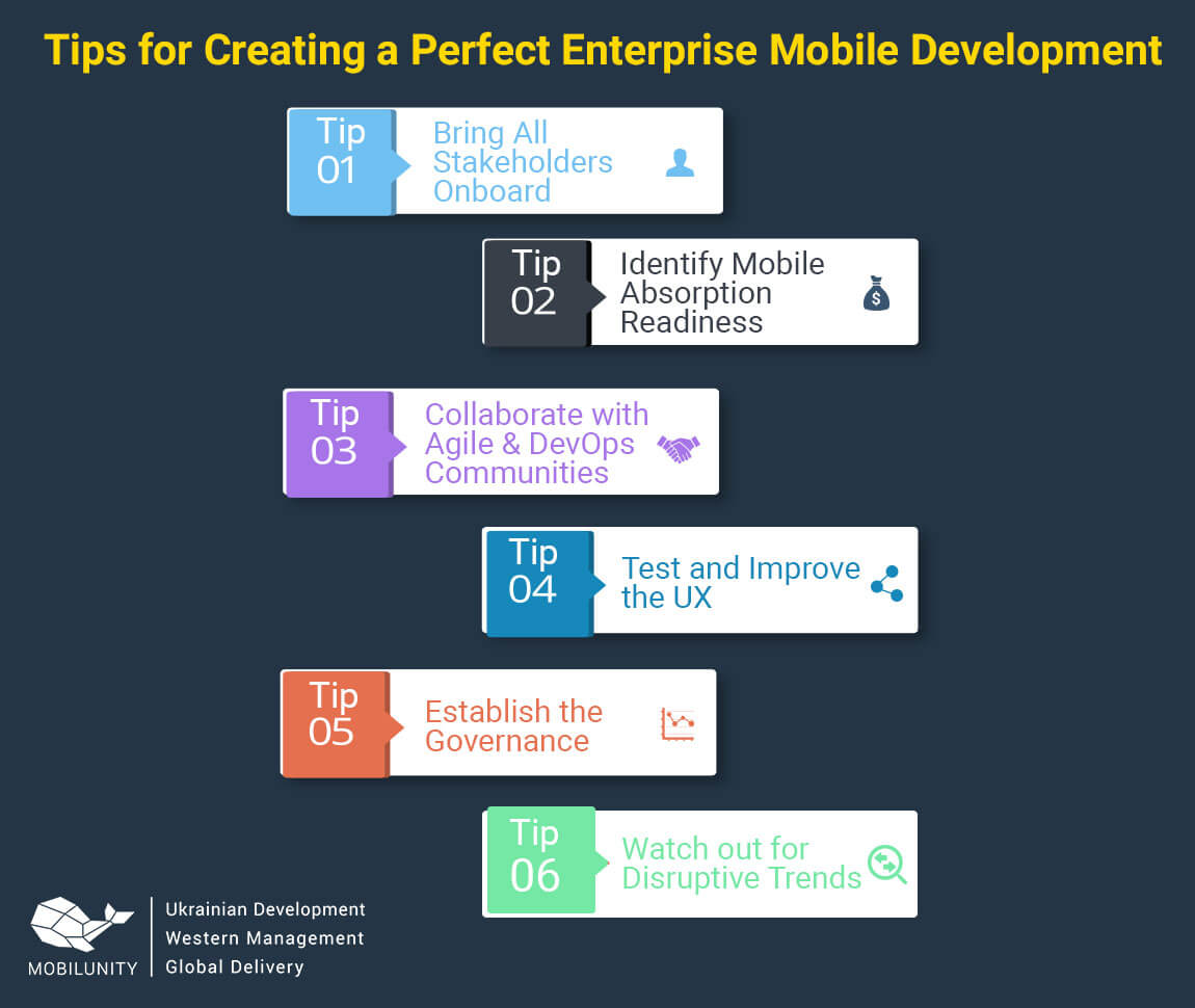 tips for enterprise app development