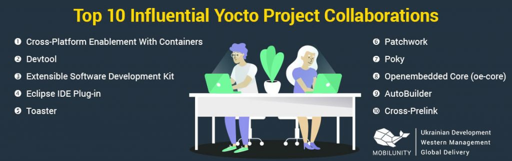 10 factors of yocto project collaborations