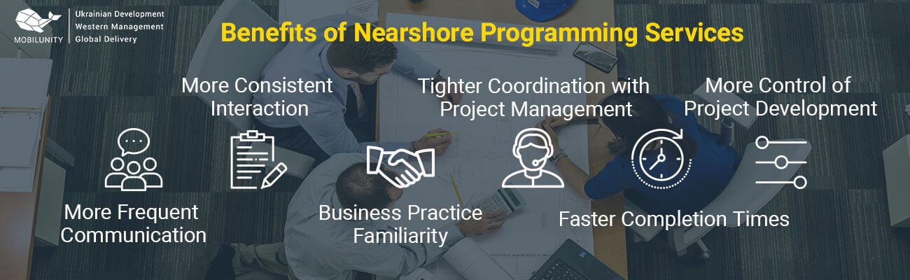 benefits of nearshore programming services