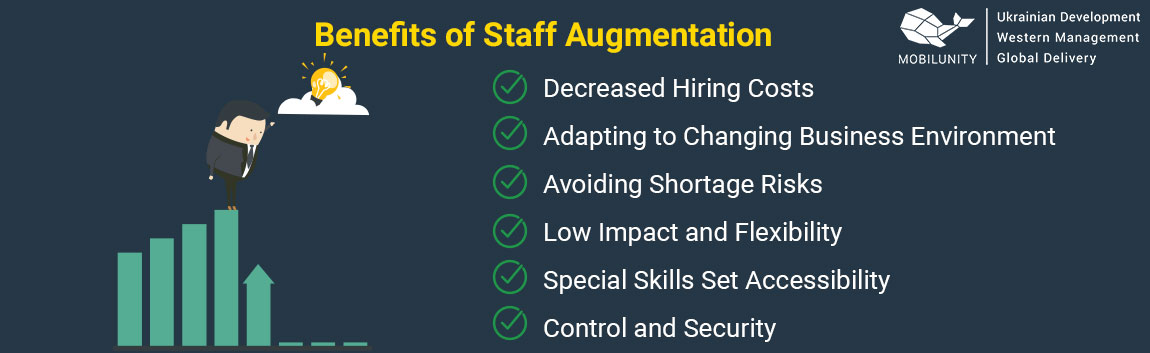 benefits of staff augmentation
