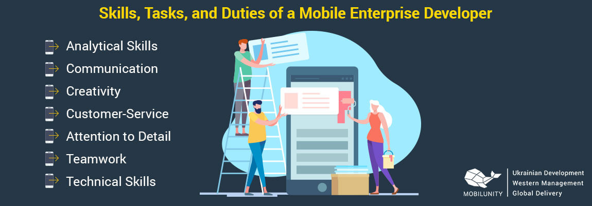 enterprise mobile development skills