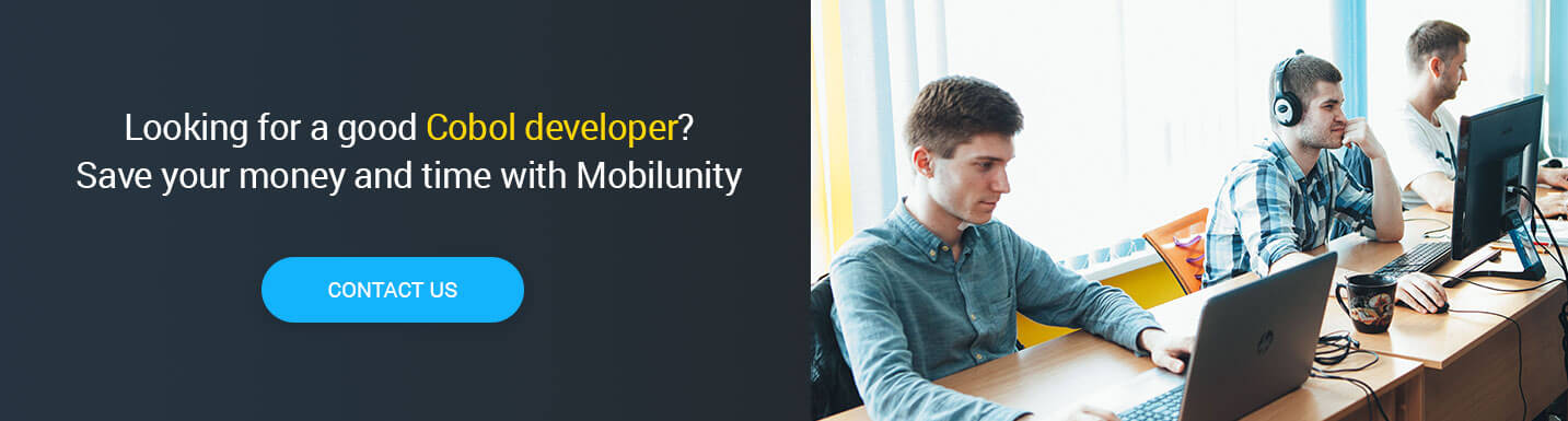 hire cobol application developer at Mobilunity