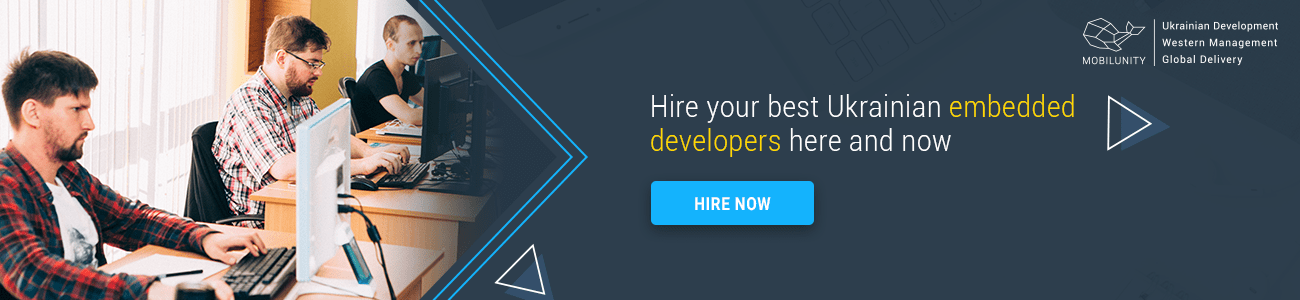 hire embedded developer at Mobilunity