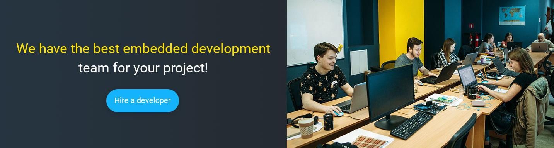 hire junior embedded developer at Mobilunity