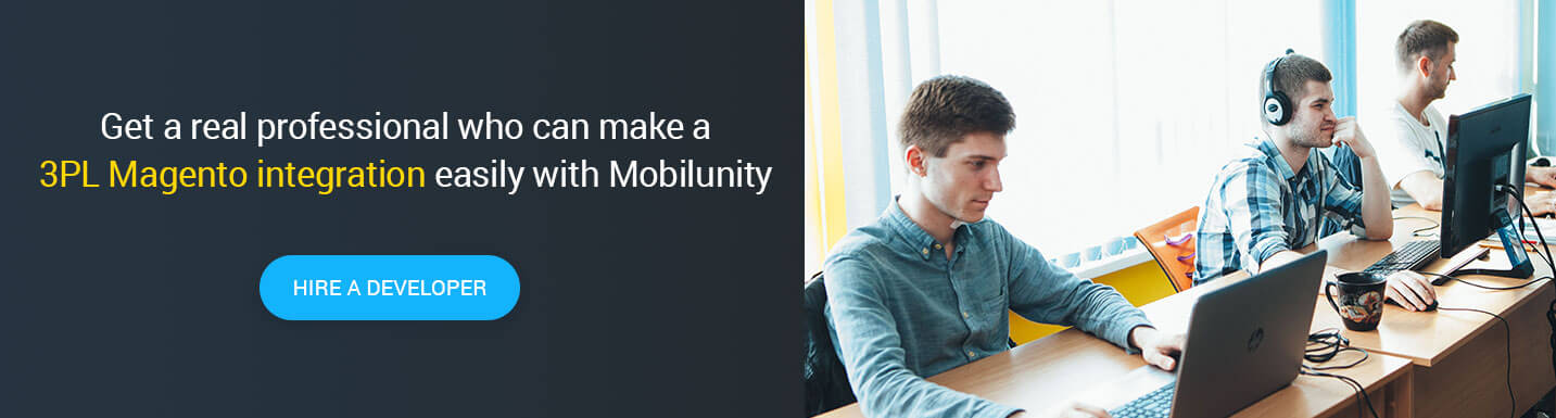 hire magento web developer at Mobilunity