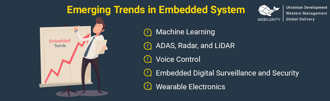main trends in embedded technology