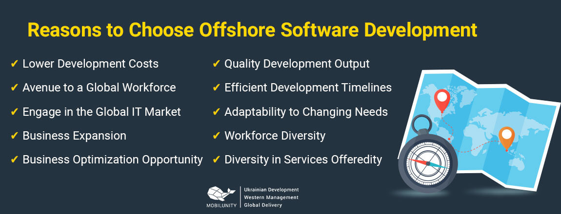 reasons to choose offshore development