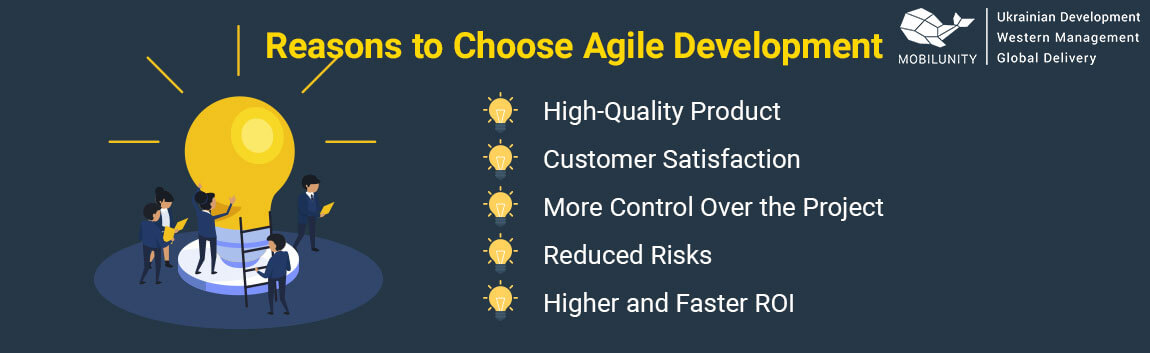 reasons to use agile outsourcing development