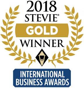Stevie Gold Winner