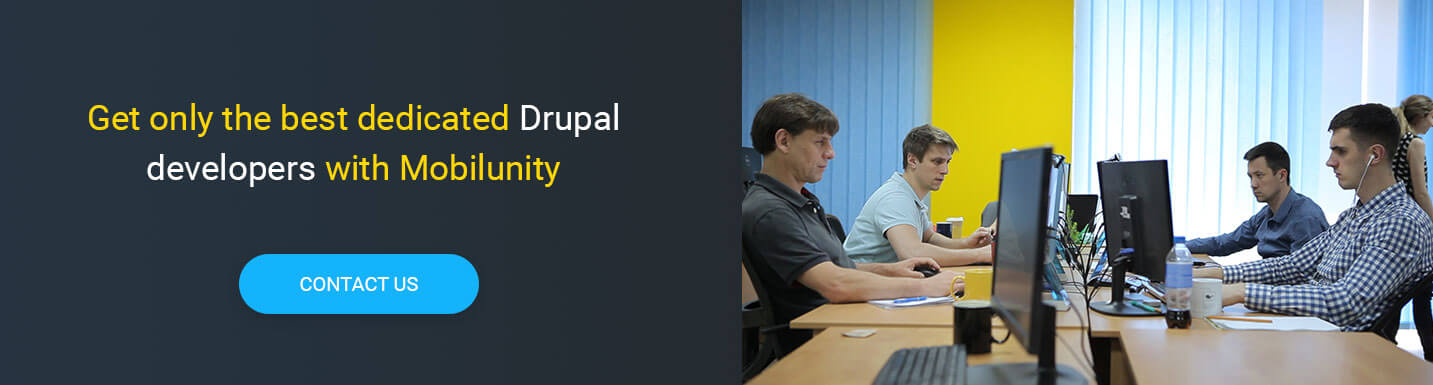 hire drupal developers at Mobilunity