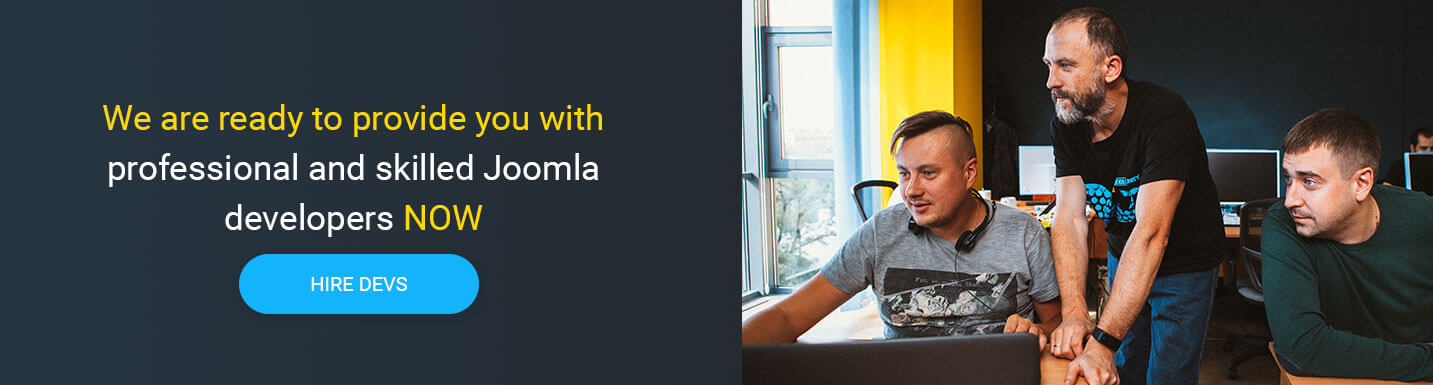 hire joomla developers at Mobilunity
