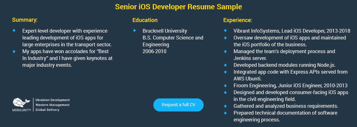 iOS Developer Hiring [Ultimate Guide] | Mobilunity
