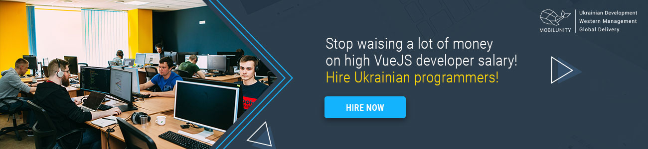 hire developers for vuejs projects
