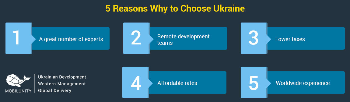 why outsourcing team in Ukraine