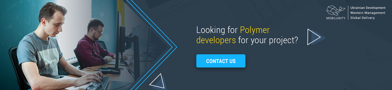 hire polymer developer with Mobilunity