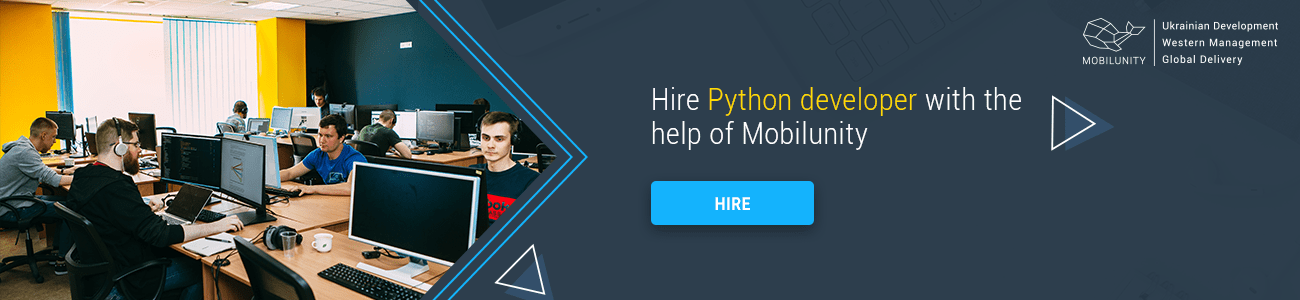 hire python developers at Mobilunity