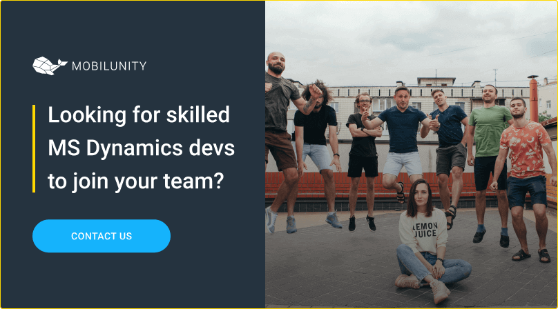 hire ms dynamics developer at affordable costs at mobilunity