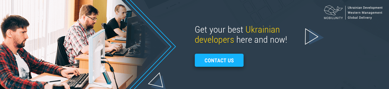 hire ukrainian web development team