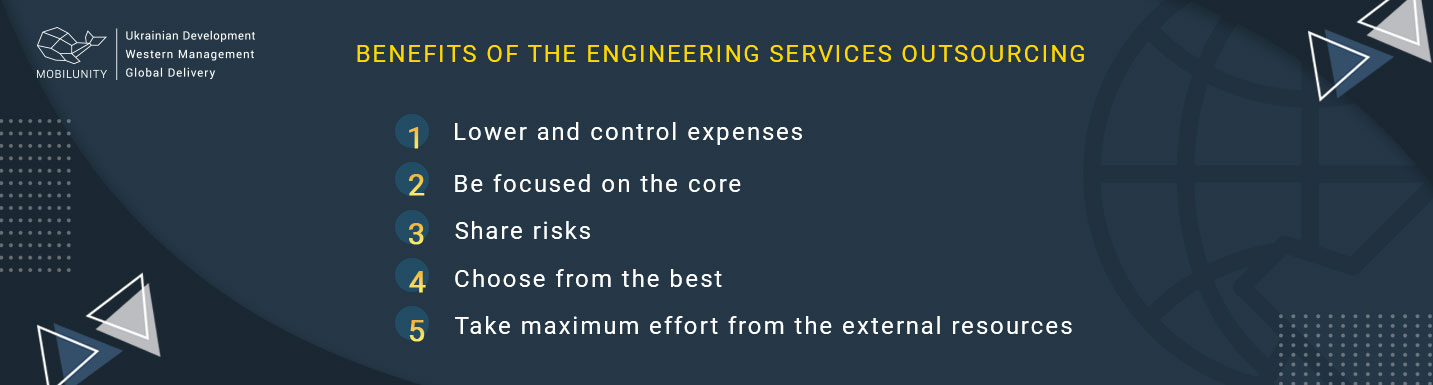 benefits of engineering services outsourcing