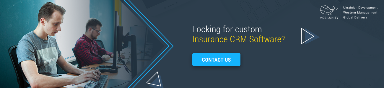 create insurance crm software with mobilunity